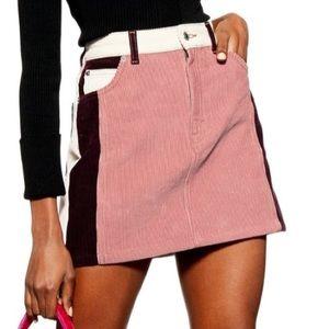 LAST CALL 🌟HP🌟NWT TOPSHOP Corduroy Miniskirt 8